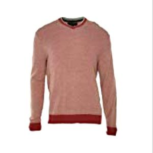 Tasso Elba Mens Two Tone Knit Pullover Sweater XXL